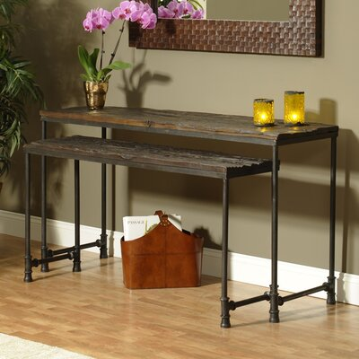 William Sheppee Saal 2 Piece Nesting Console Table Set
