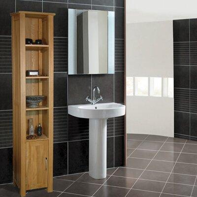 baumhaus mobel oak 365 x 180cm free standing tall bathroom cabinet baumhaus mobel oak 2