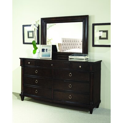 A.R.T. Classic 9 Drawer Dresser with Mirror