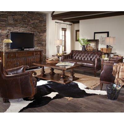 A.R.T. Whiskey Oak Coffee Table Set