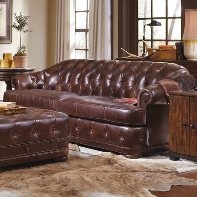 A.R.T. Kennedy Chesterfield Leather Sofa
