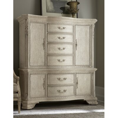 Astoria Grand Schwerin 6 Drawer Gentleman's Chest
