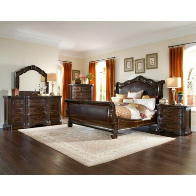 A.R.T. Valencia Sleigh Customizable Bedroom ..