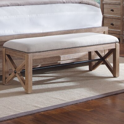 A.R.T. Ventura Upholstered Bedroom Bench