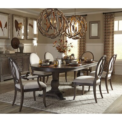 Darby Home Co Pond Brook 7 Piece Dining Set