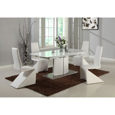 Chintaly Imports Elizabeth Extendable Dining Table