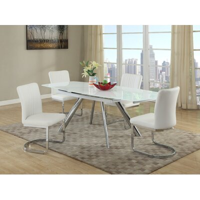 Wade Logan Trey 5 Piece Dining Set