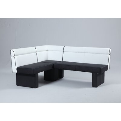 Wade Logan Keenan Upholstered Kitchen Bench