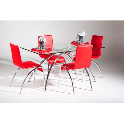 Chintaly Imports Elaine 5 Piece Dining Set