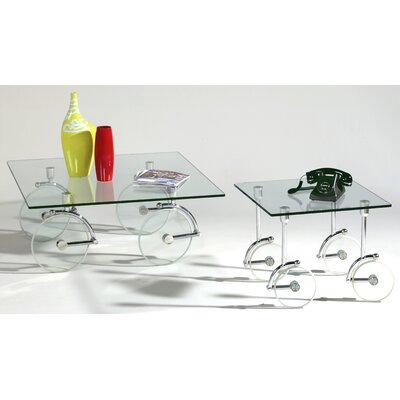 Chintaly Imports Coffee Table Set