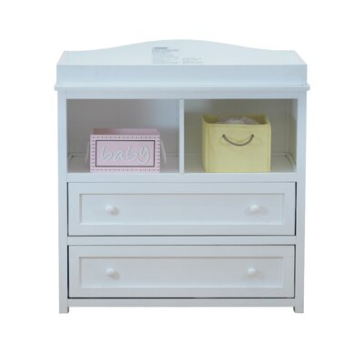AFG Baby Furniture Leila 2 Drawer Changing Dresser