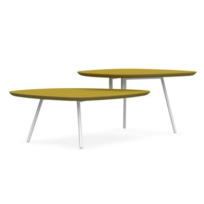 Calligaris Tweet Coffee Table with Double Top
