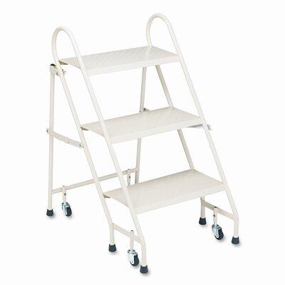 cramer industries inc 3step steel folding step stool with 300 lb load capacity wayfair - Folding Step Stool