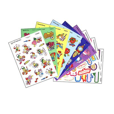 Trend Enterprises Stinky Mixed Shapes Sticker You Ll Love