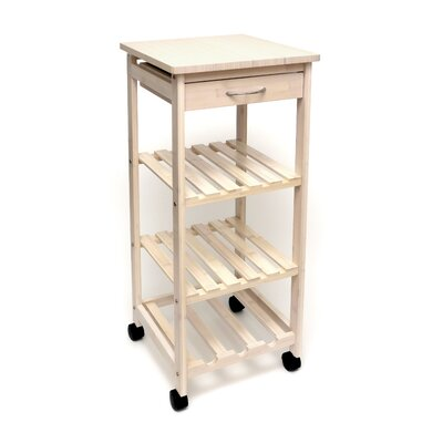 Lipper International Space Saving Cart