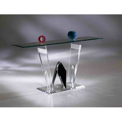 Shahrooz Diamond Cut Sofa Table