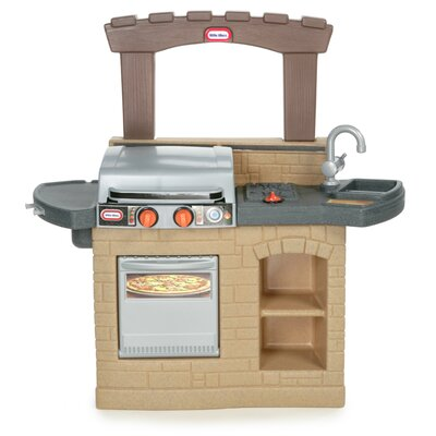 Little Tikes Cook U0027n Play Outdoor BBQ™ Kitchen Set U0026 Reviews | Wayfair  Little Tikes Kitchen Set