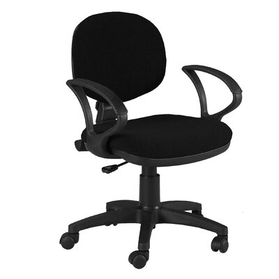 Martin Universal Design Stanford Mid-Back Office Chair with Arms