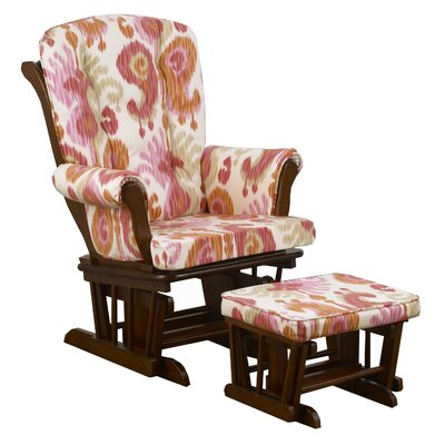 Cotton Tale Sundance Ikat Glider with Ottoman