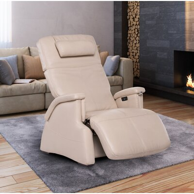 Human Touch Tranquility Zero-Gravity Recliner with Jade Heat and Wave Therapy