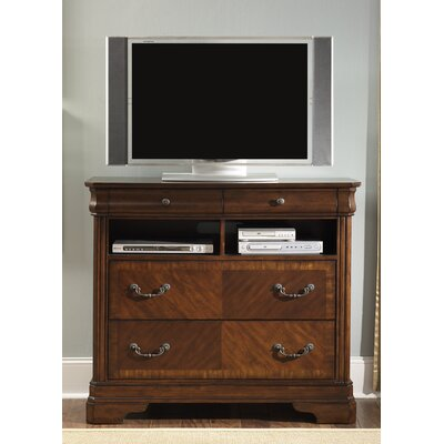 Rosalind Wheeler Ruppert 4 Drawer Media Chest