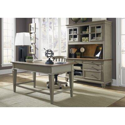 August Grove 3-Piece Standard Desk Office Suite