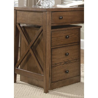 Liberty Furniture Hearthstone 2-Drawer Mobile  File Cabinet