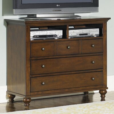 Darby Home Co Busse 5 Drawer Media Chest