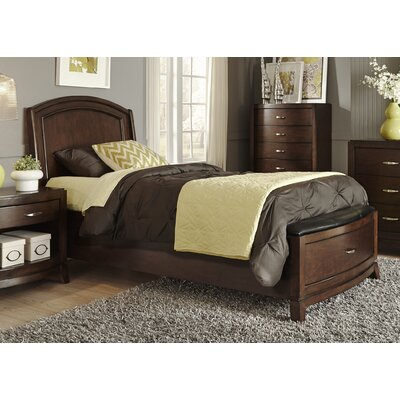 Liberty Furniture Upholstered Panel Bed