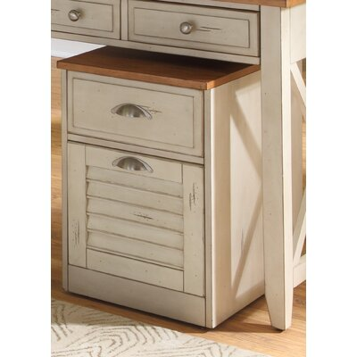Liberty Furniture 2 Drawer Mobile File Cabinet