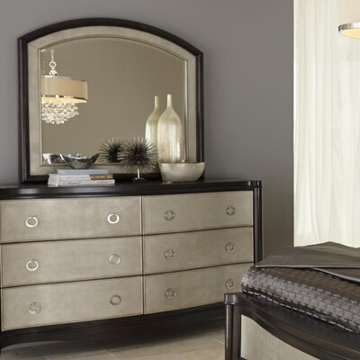 Liberty Furniture 6 Drawer Dresser with Mirror