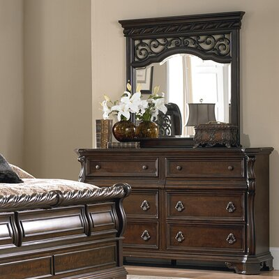 Liberty Furniture Arbor Place 8 Drawer Dresser with Mirror