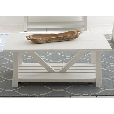 Beachcrest Home Kendall Green Coffee Table