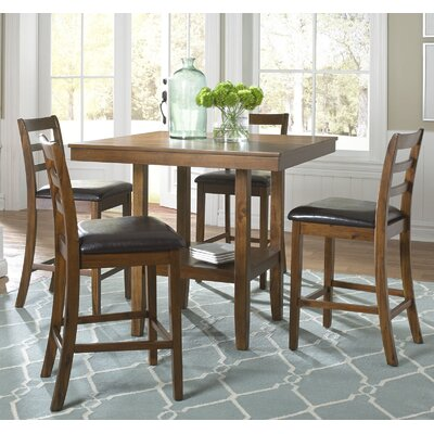 Darby Home Co Driscoll 5 Piece Pub Table Set