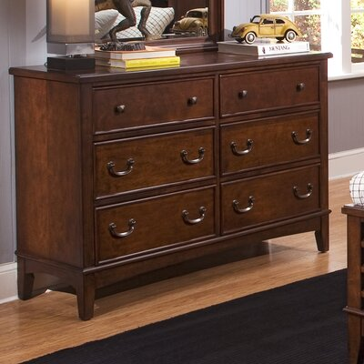 Liberty Furniture Chelsea Square Youth Bedroom Double 6 Drawer Dresser