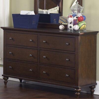 Liberty Furniture Abbott Ridge 6 Drawer Dresser