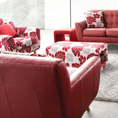 Diamond Sofa Scarlett Patterned Arm Chair