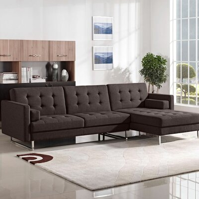 Diamond Sofa Opus Sleeper Sectional