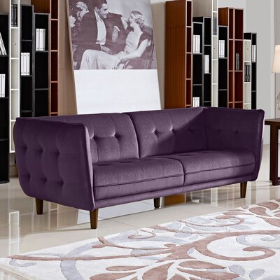 Diamond Sofa Venice Button Tuft Sofa