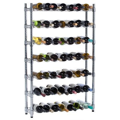 Oenophilia Epicurean 91 Bottle Floor Wine Rack