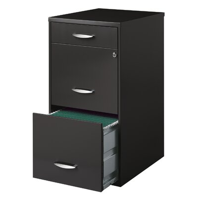 CommClad Office Designs 3-Drawer Vertical File Cabinet