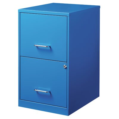 CommClad 2 Drawer File Cabinet
