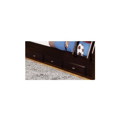 Discovery World Furniture 3 Drawer Under Bed Sto..