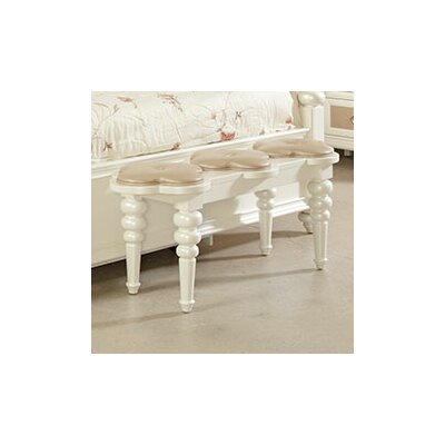 Najarian Furniture Paris Bedside Upholstered Bedroom Bench