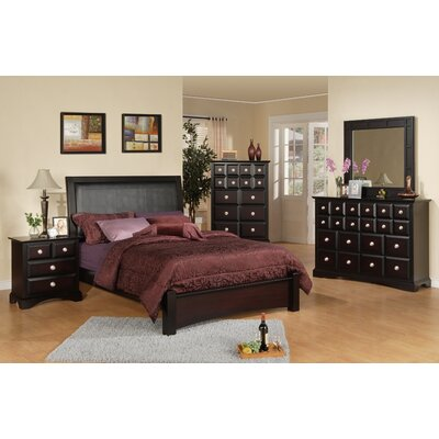 Alcott Hill Elsa Panel Customizable Bedroom Set