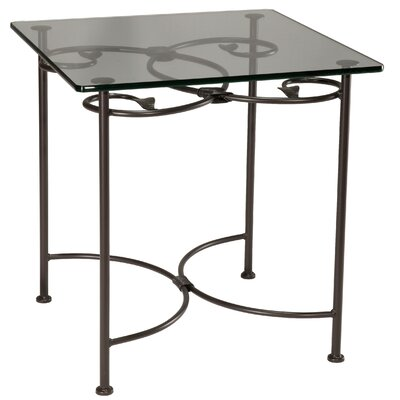 Stone County Ironworks Leaf End Table