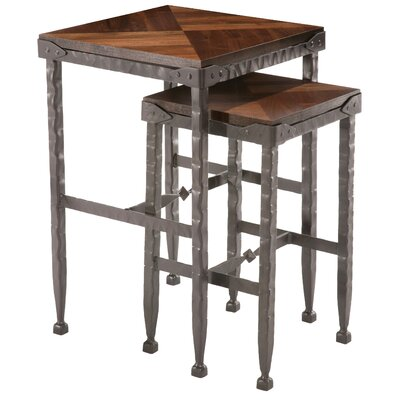 Stone County Ironworks Forest Hill Large Piece Nesting Tables