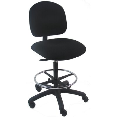 Bench Pro Mid-Back Tall Industrial Office Chair with Adjustable Footring