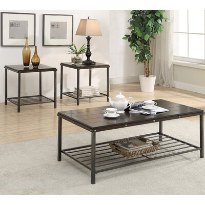 American Furniture Classics 3 Piece Coffee Table Set Image