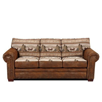 American Furniture Classics Lodge Alpine Sofa